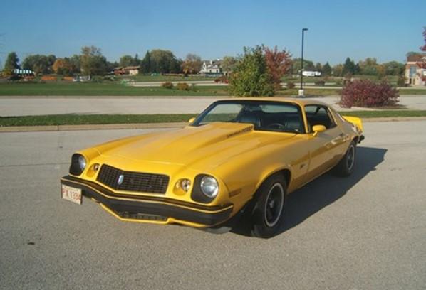 Chevrolet Camaro Cor Amarelo